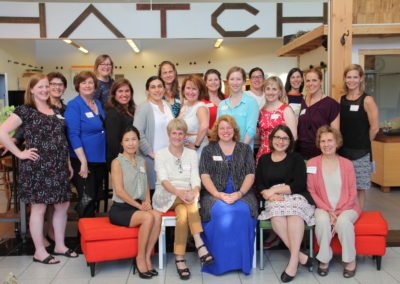 Photoset: 2015 Women of Influence Orchid Reunion